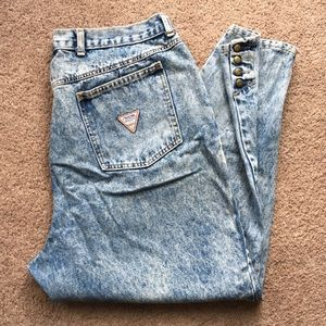 87cc9f254 Vintage Zena High Waisted Acid Wash Jeans